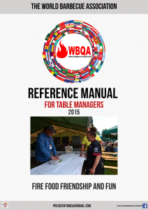 Manual for Table Managers